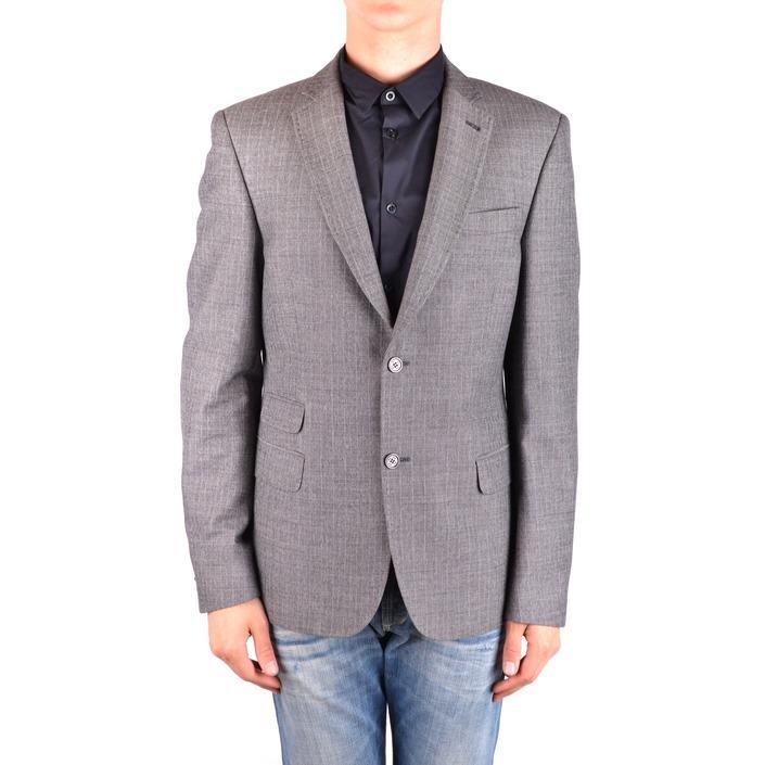 Daniele Alessandrini Men's Blazer Grey 163253 - grey 50
