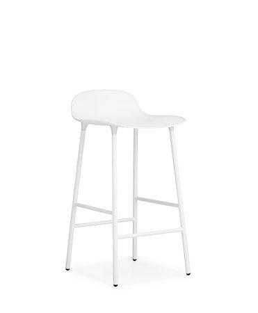 Form Barstol Hvit 65 cm