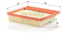 Ilmansuodatin MANN-FILTER C 25 110-2