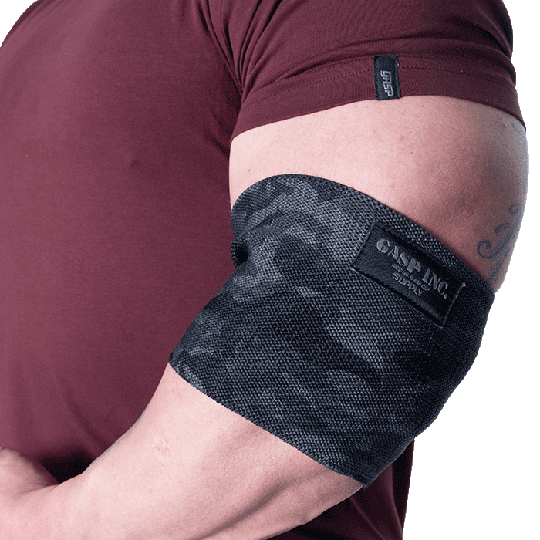 GASP Heavy Duty Elbow sleeve, Dark camo