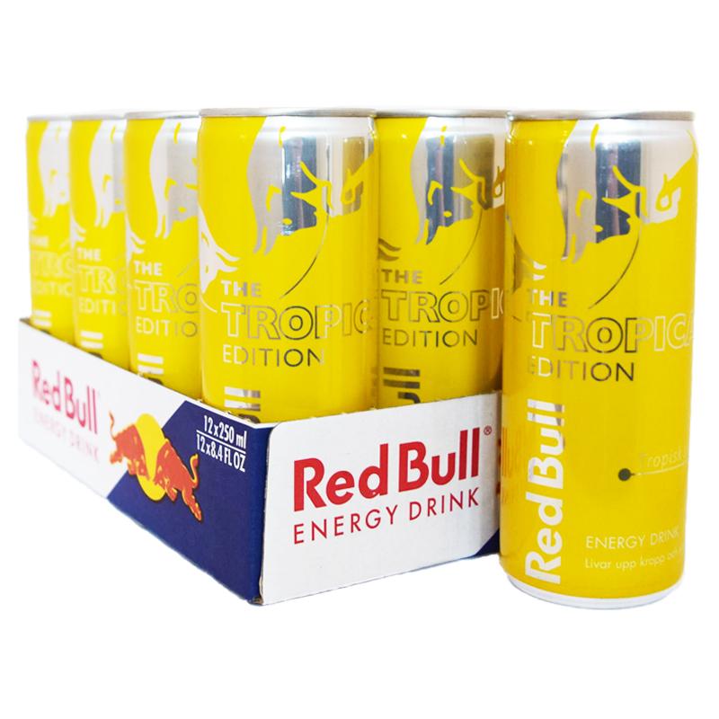 "Hel Låda Red Bull ""Tropical"" - 20% rabatt"