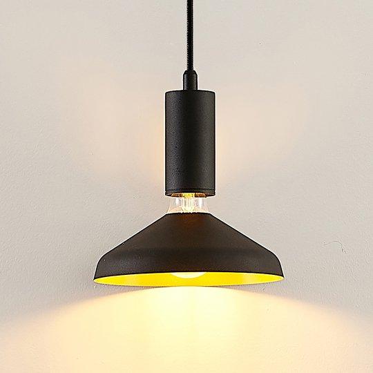 Arcchio Jaika -riippuvalo, 1-lamppuinen, musta