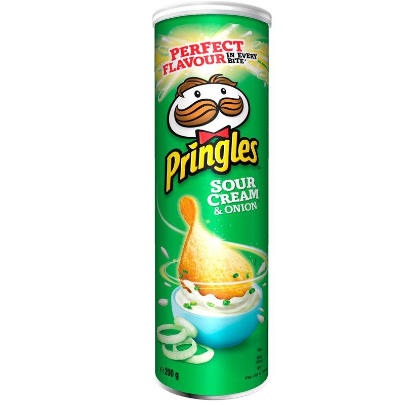 Pringles Sourcream & Onion - 30% alennus