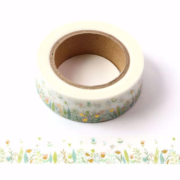 Floral Meadow Washi Tape