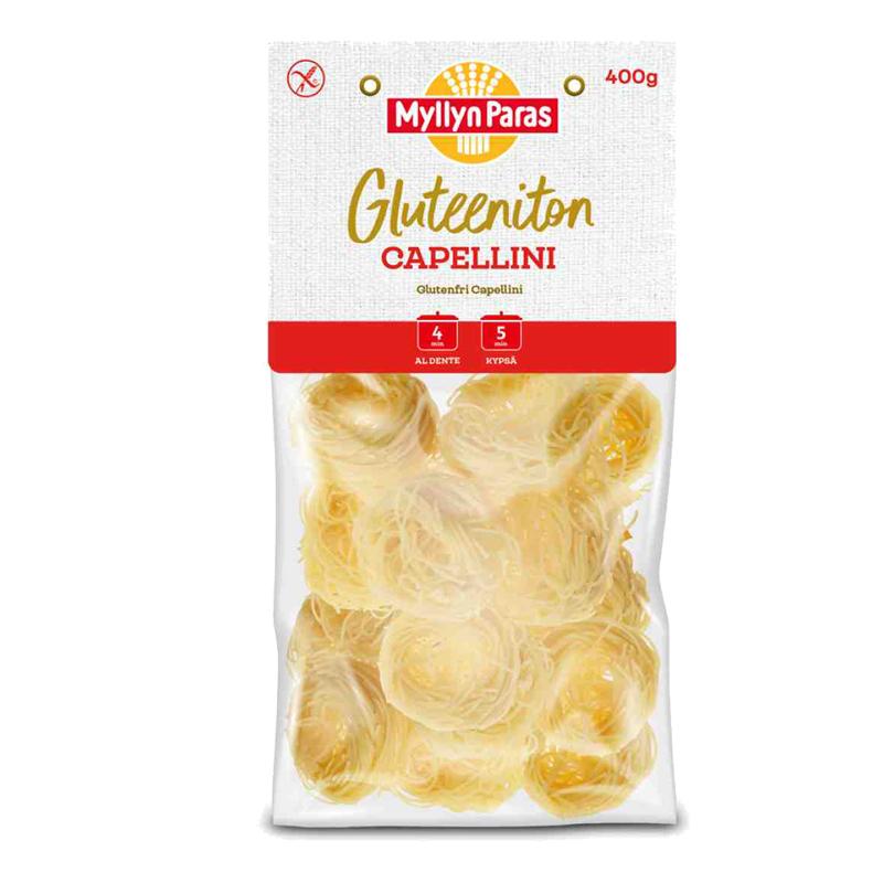 Gluteeniton Capellini - 20% alennus