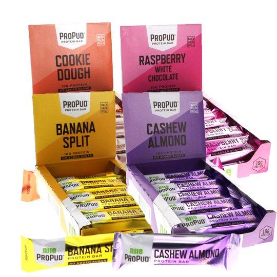 Proteinbars 48-pack - 50% rabatt