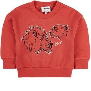 Kenzo Tiger Sweatshirt Röd 2 år