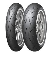 Dunlop Roadsport 2 ( 120/60 ZR17 TL (55W) M/C, etupyörä )