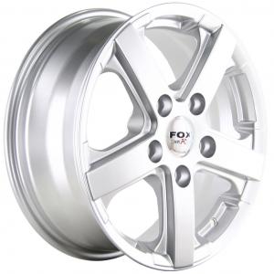 Fox Viper Commercial Silver 6.5x15 5/130 ET50 B89.1