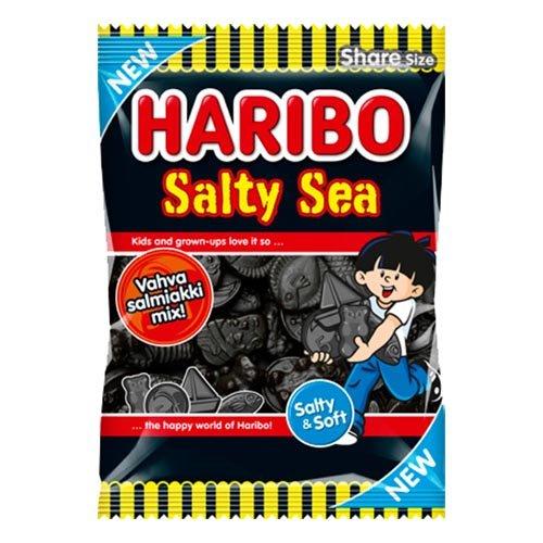 Haribo Salty Sea Påse - 170 gram