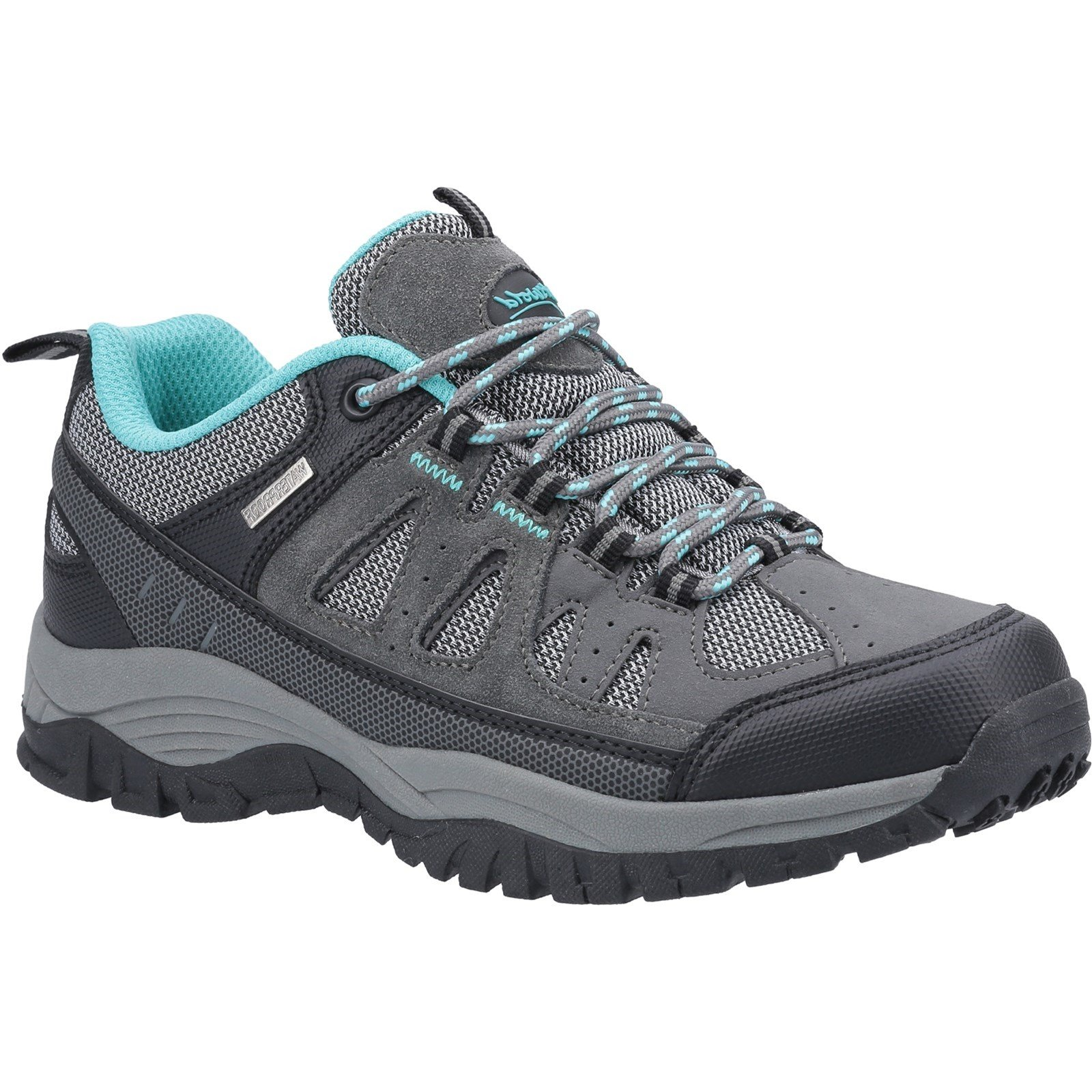 Cotswold Women's Maisemore Low Hiking Boot Grey 32988 - Grey 5