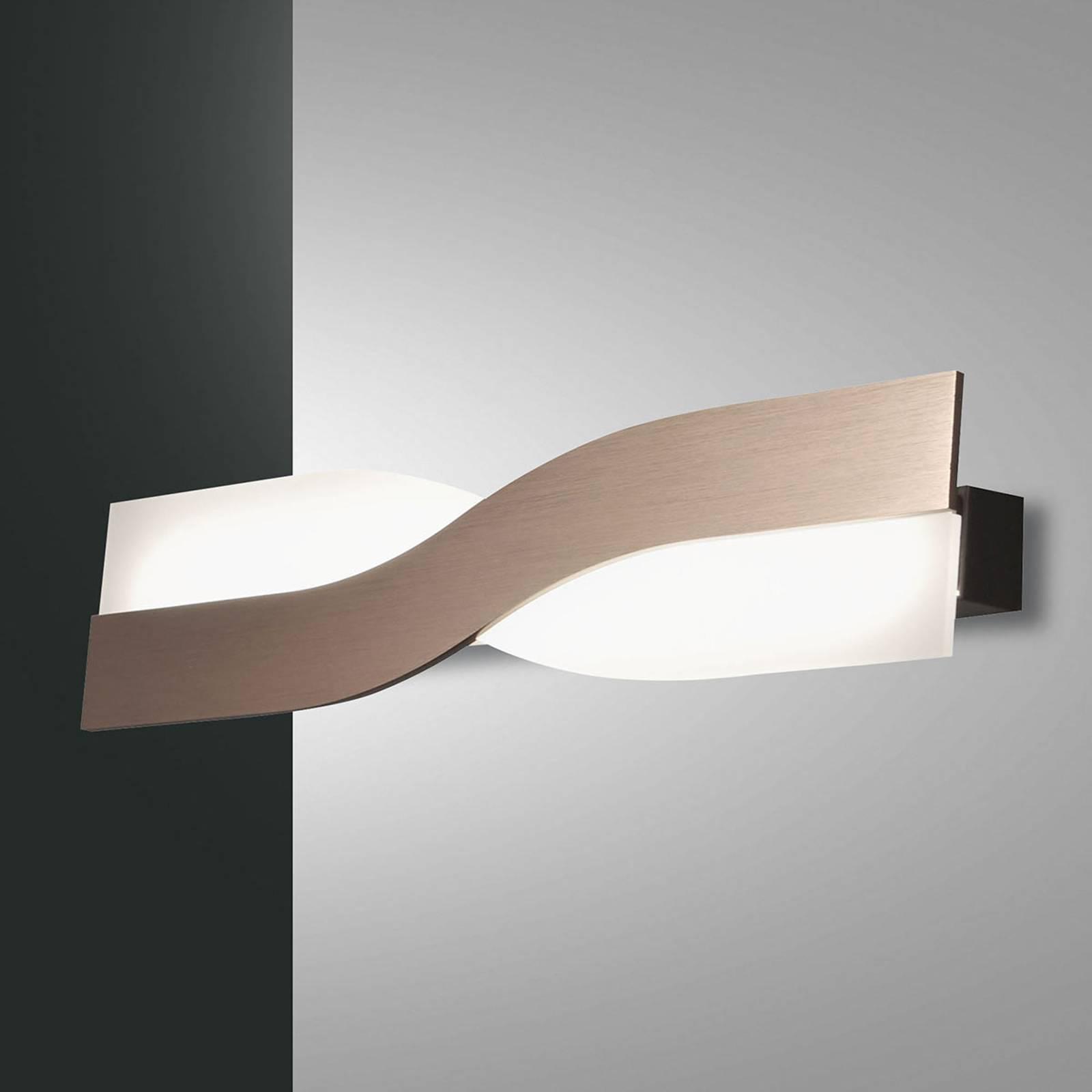 LED-seinävalasin Riace 50 cm pronssi