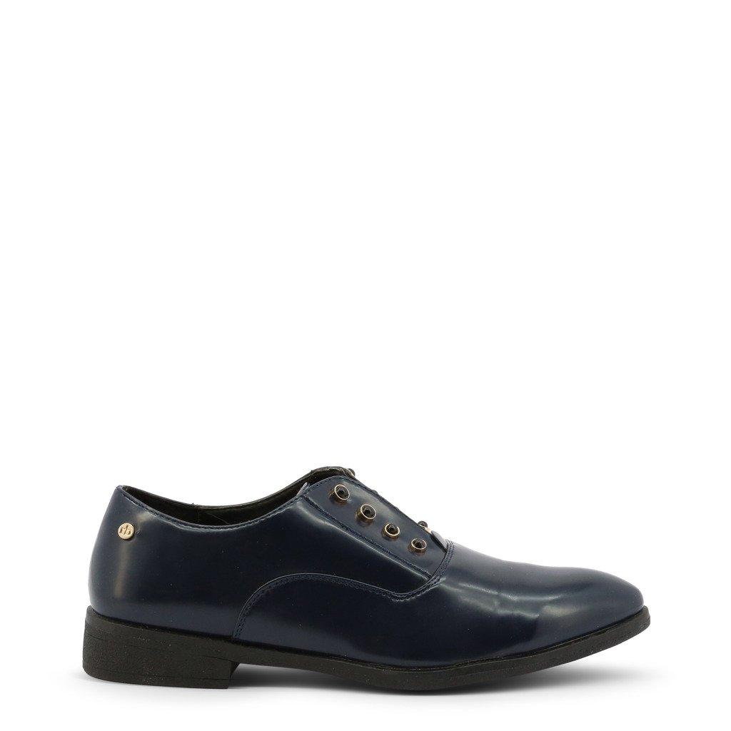 Roccobarocco Women's Flat Shoe Blue RBSC1JC02 - blue EU 39
