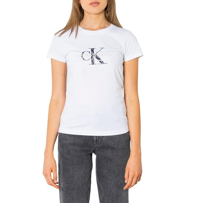 Calvin Klein Jeans Women T-Shirt Various Colours 299976 - white XS