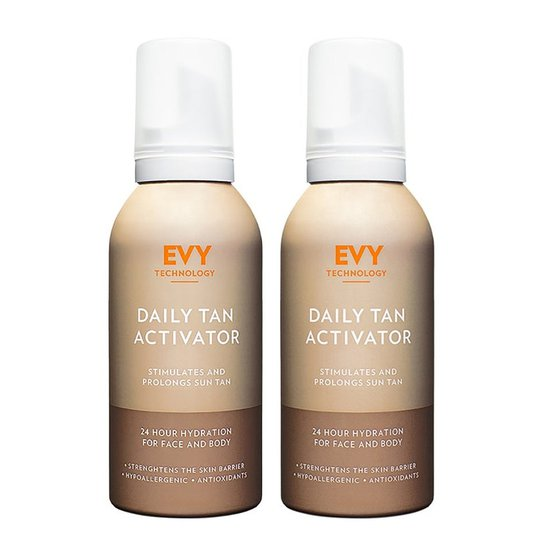 Daily Tan Activator Duo, EVY Technology Ihonhoito
