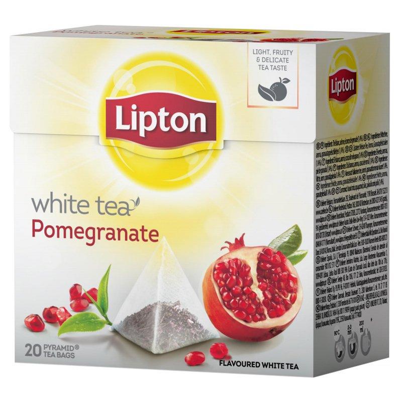 Valkoinen Tee, Granaattiomena 20-pack - 50% alennus