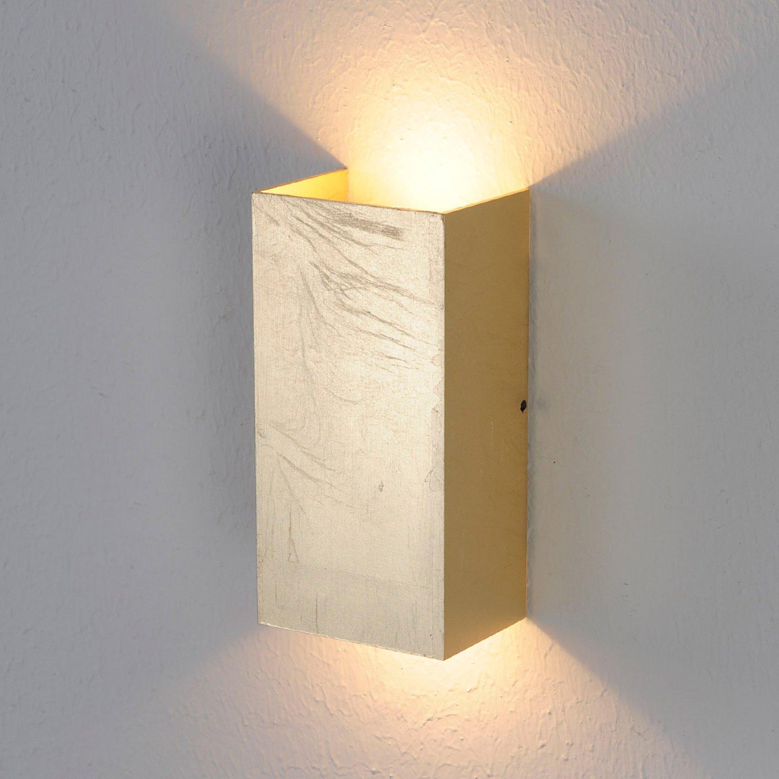 Antikk-gullfarget LED-vegglampe Mira