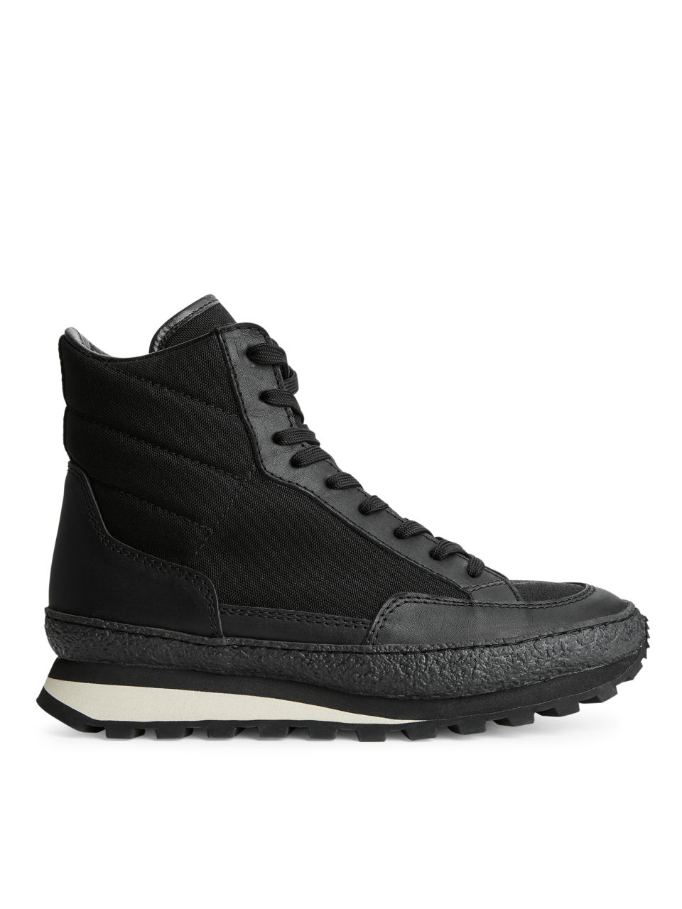High Jogger Trainers - Black