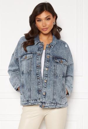 ONLY Safe Life LS Oversize Jacket Medium Blue Denim XS