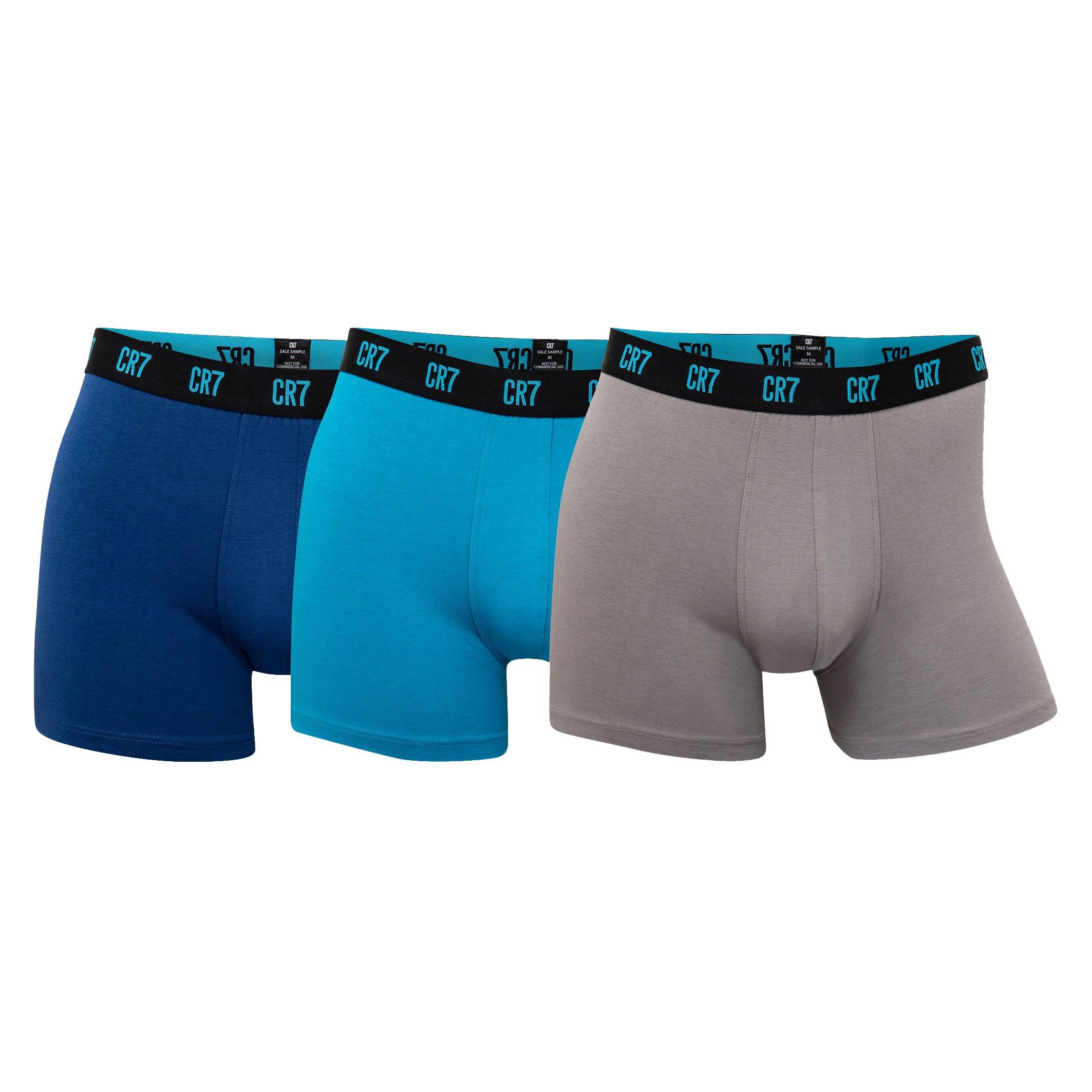 CR7 Cristiano Ronaldo Men's Boxer Shorts Various Colours 8100-49 - blue-1 S