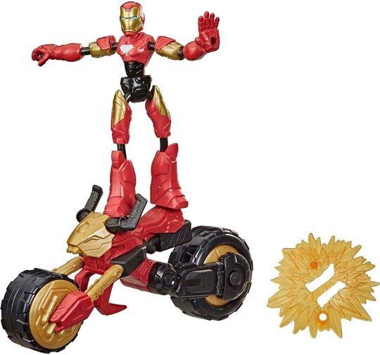 Marvel Avengers Bend And Flex Figur Rider Iron Man