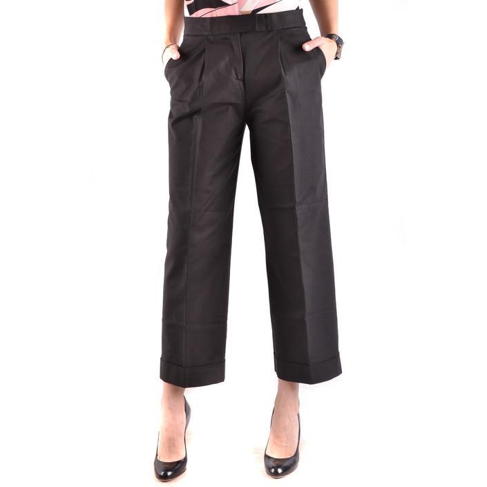 Boutique Moschino Women's Trouser Black 186688 - black 42