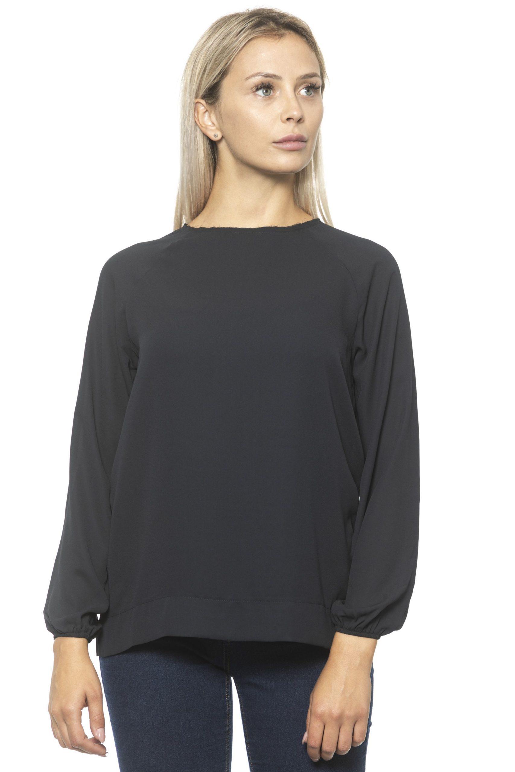 Alpha Studio Women's Nero Sweater Black AL1313062 - IT40 | XS