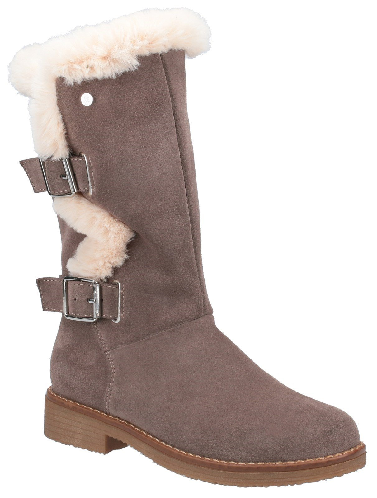 Hush Puppies Women's Megan Mid Boots Various Colours 31217 - Grey 3