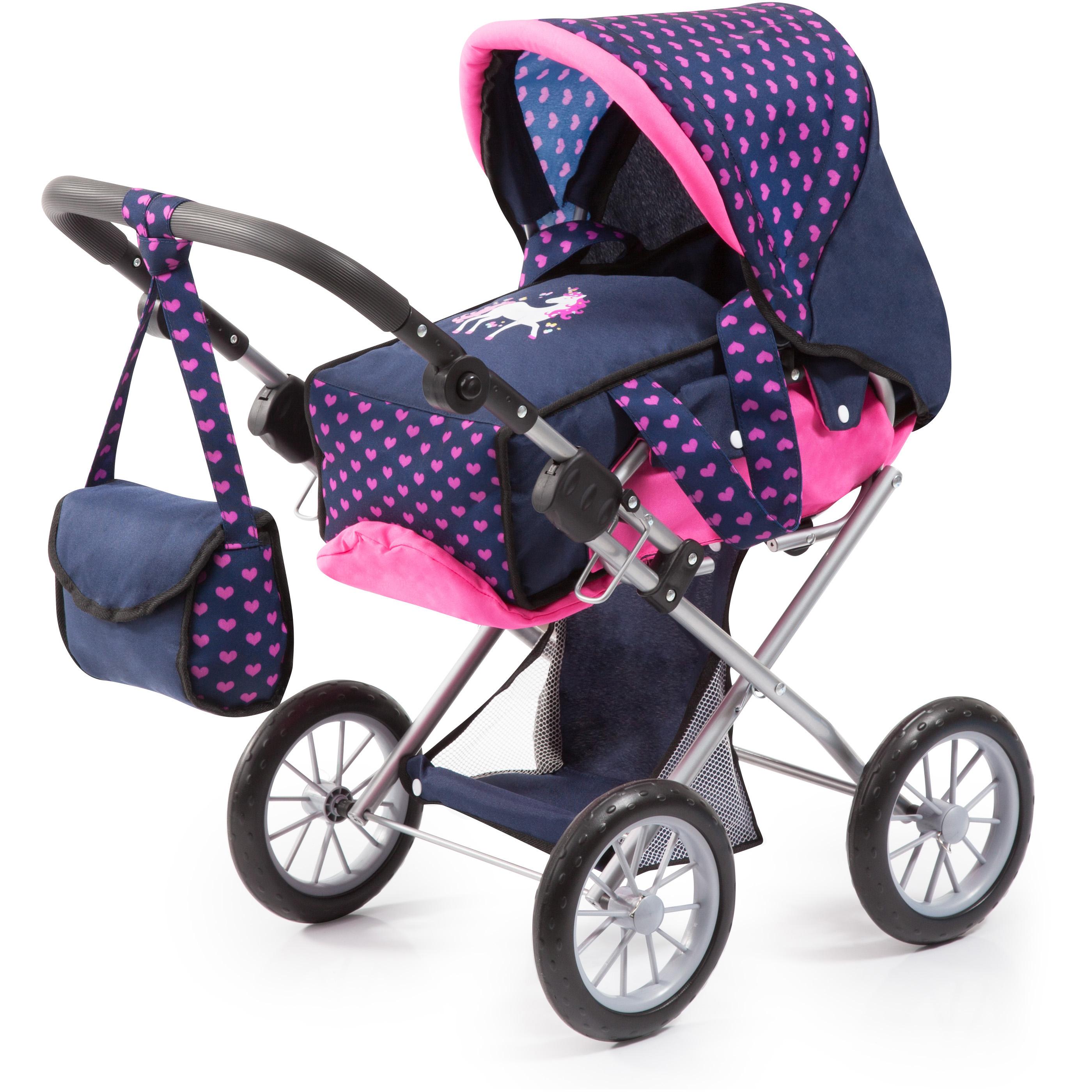 Bayer - Dolls Pram - City Star - Purple (13654AA)