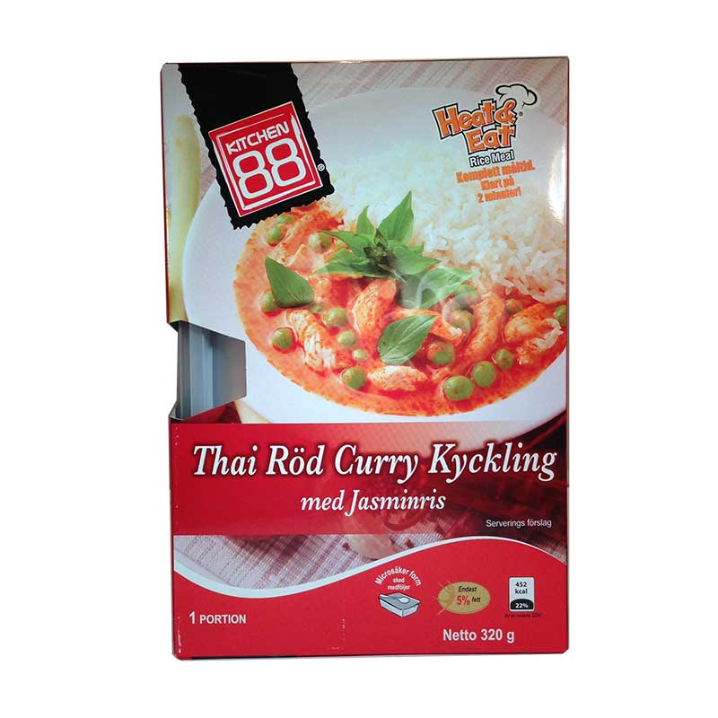 Thai Röd Curry Kyckling - 33% rabatt