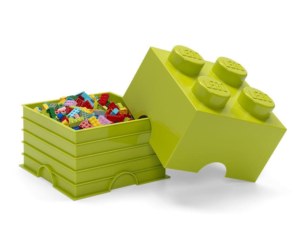 LEGO Säilytyslaatikko 4, Lime