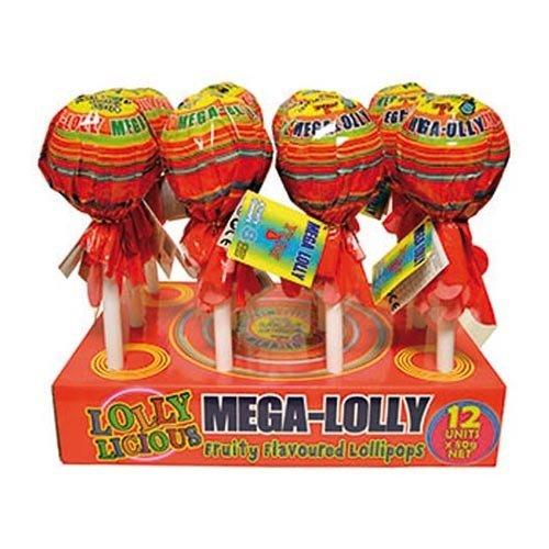 Mega-Lolly Godisklubba - 70 gram