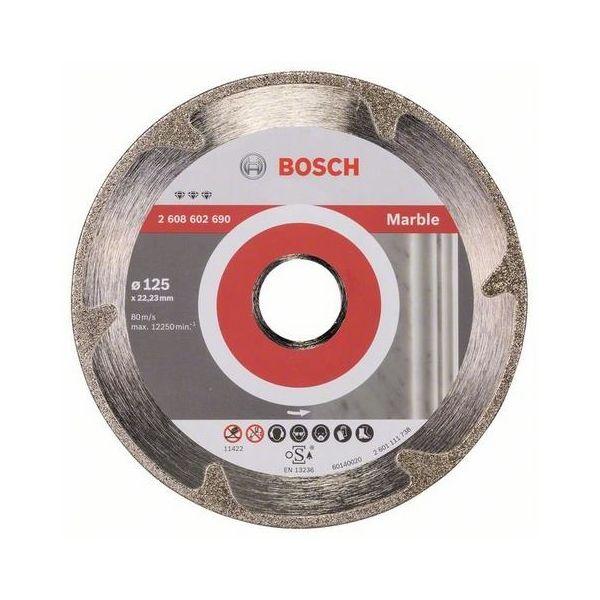 Bosch Best for Marble Diamantkappskive 125x22,23mm