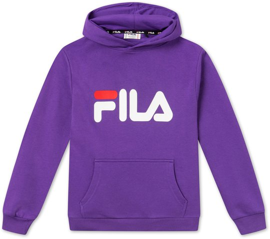 FILA Kids Classic Logo Hettegenser, Purple 86/92
