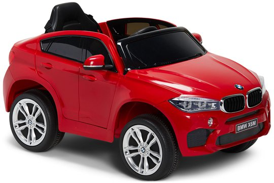 BMW X6M Elbil, Röd
