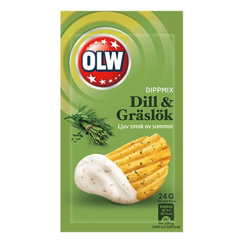 OLW Dippmix Dill & Gräslök