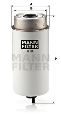 Polttoainesuodatin MANN-FILTER WK 8168