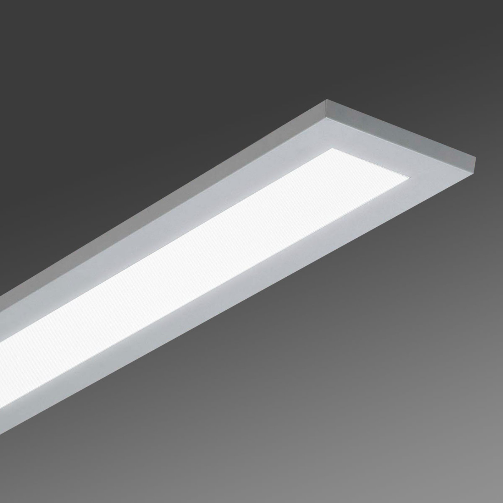 Flat, utenpåliggende LED-taklampe LAS - 3 000 K
