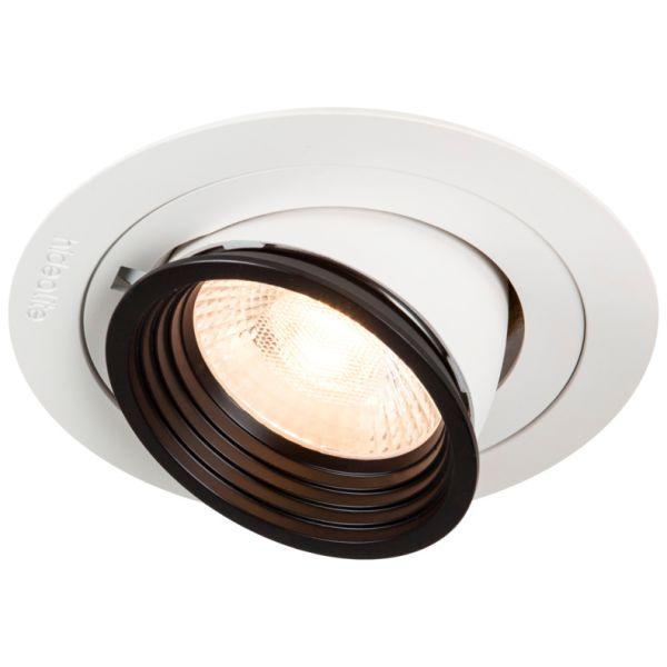 Hide-a-Lite Focus Point Maxi Downlight 36°, 3000 K Push 230 V, med DALI-driver