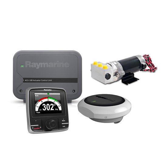 Raymarine Evolution EV-100 autopilot med hydraulisk styrning