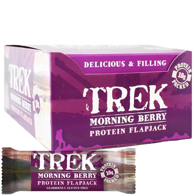 """Kokonainen laatikollenen Proteiinipatukoita """"Morning Berry"""" 16 x 50g - 67% alennus"""