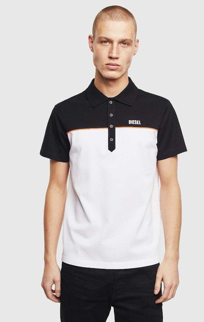 Diesel Men's Polo Shirt Various Colours 283915 - black-2 L