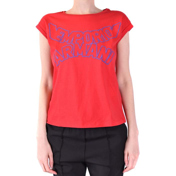 Emporio Armani Women's T-Shirt Red 229554 - red 36
