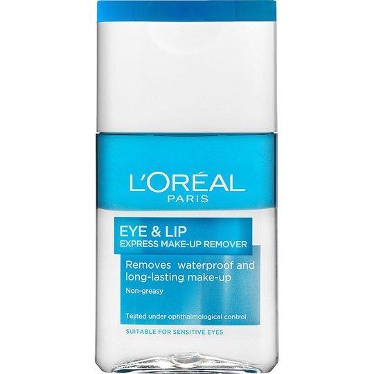 L'Oréal Paris Dermo Expertise Eye & Lip Make-up Remover Waterproof, 125 ml L'Oréal Paris Meikinpoistoaine
