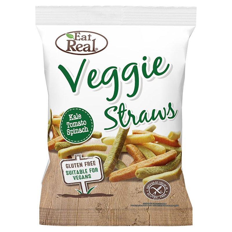 """Veggie Straws, """"Kale, Tomato & Spinach"""" 45 g - 34% alennus"""