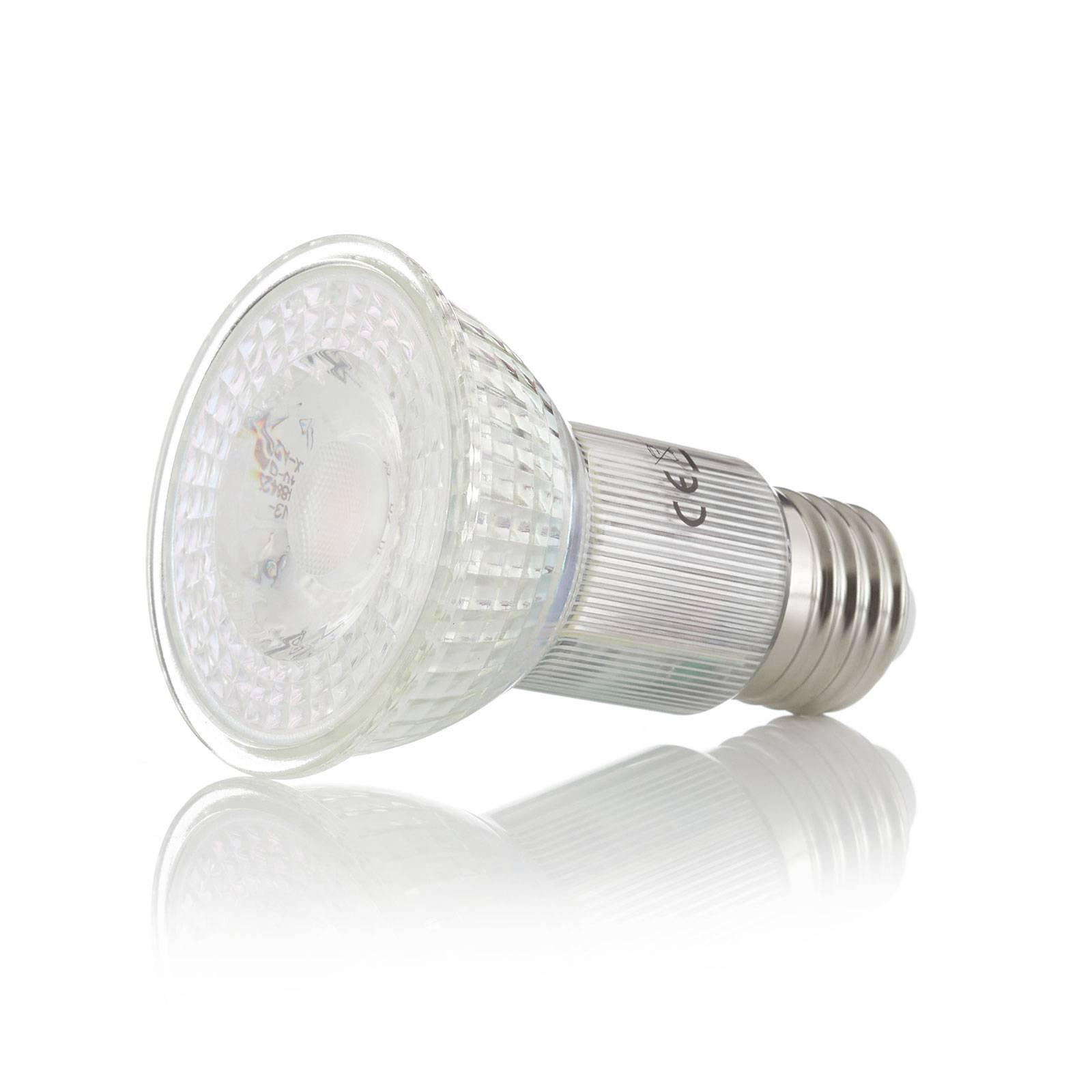 LED-taklampe Bizzo, alu, klarglass