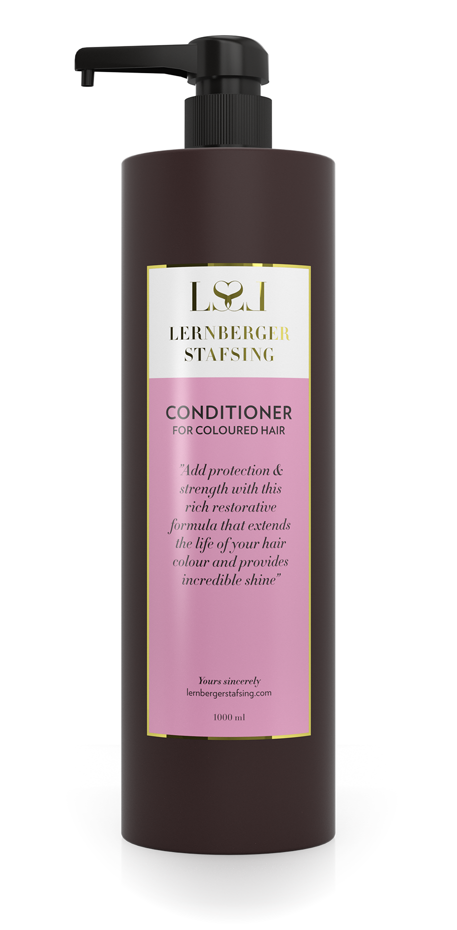 Lernberger Stafsing - Conditioner For Coloured Hair w. Pump 1000 ml