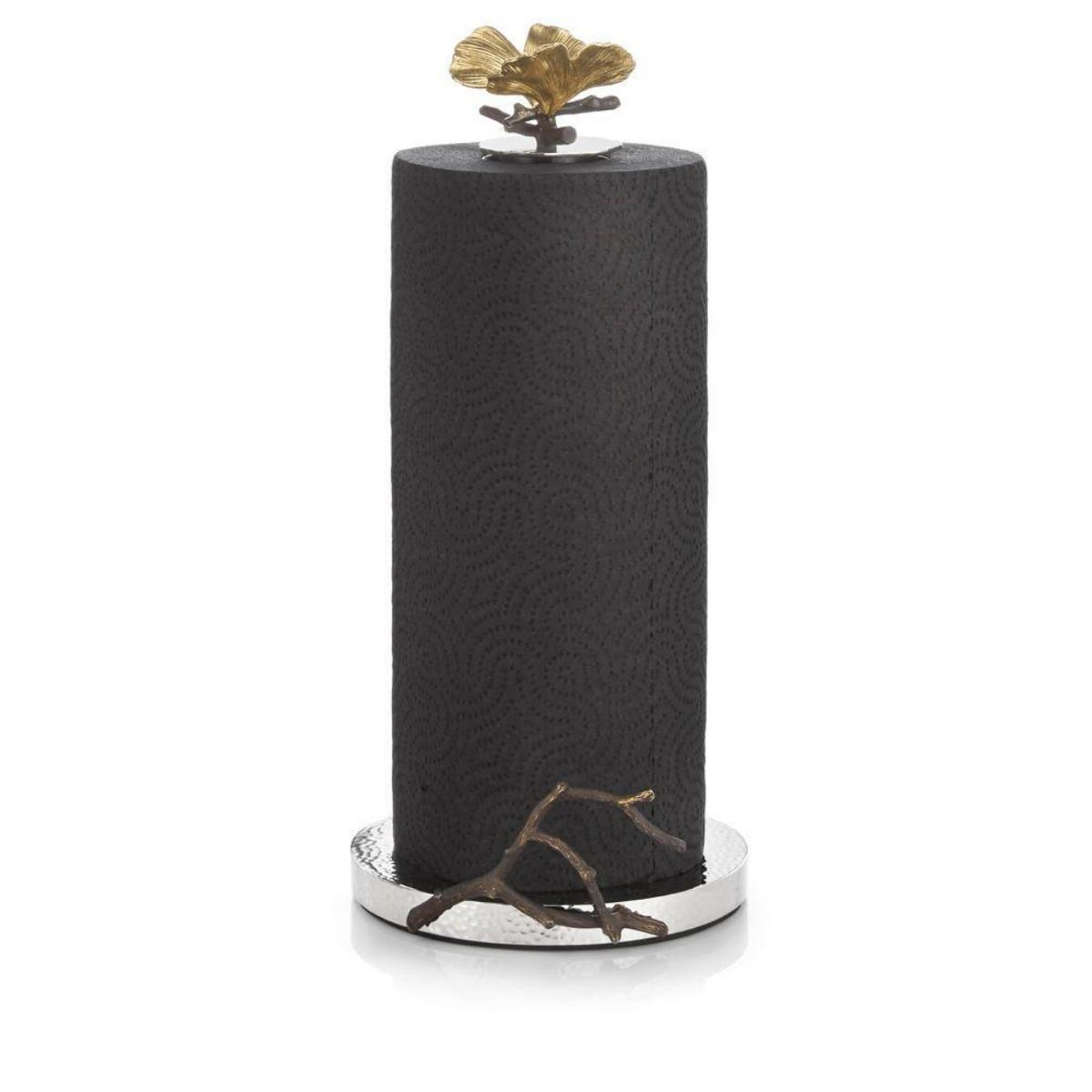 Michael Aram I Butterfly Ginkgo Paper Towel Holder