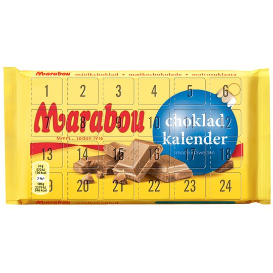 Marabou Chokladkalender - 54% rabatt