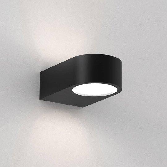 Astro Epsilon LED-vegglampe up & down, svart